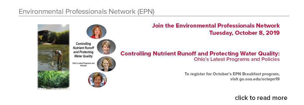 Join us for the October EPN Breakfast program.